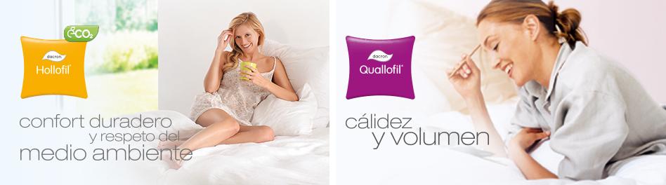 DACRON® Hollofil®  -  DACRON® Quallofil®