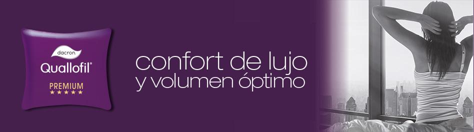 DACRON® Quallofil® confort de lujo y volumen óptimo